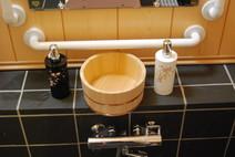 天然成分の石鹸やシャンプー 浴槽内エアコン完備